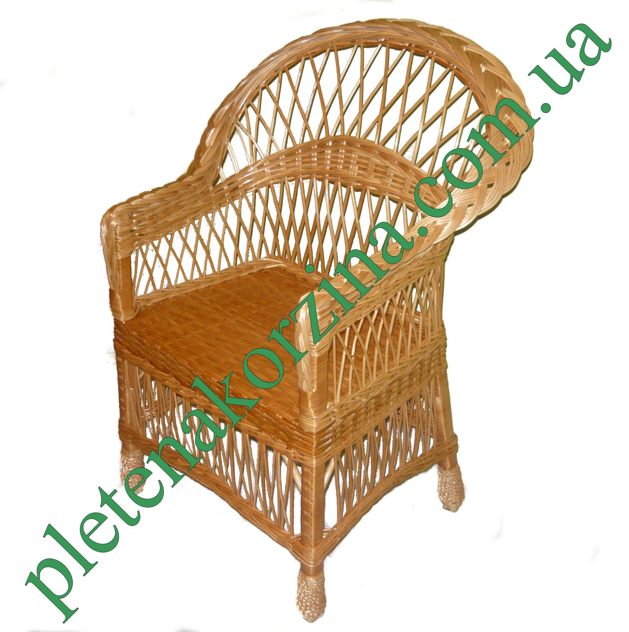 Кресло плетеное из лозы Арт.1224