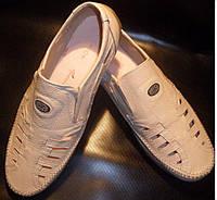 Туфли мужские кожаные большие размеры от производителя модель ББМ11-2