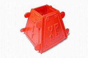 Форма для творожной паски 0,3 кг пластиковая
