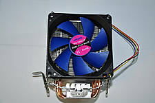 Вентилятор, кулер, система охлаждения CPU ATcool Aero X3 ball bearing (3 медных трубки), фото 2