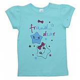 Летняя футболка на девочку 1-2 года Sea, фото 6