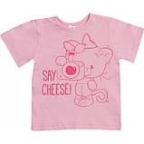 Летняя футболка на девочку 1-2 года Sea, фото 7
