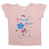 Летняя футболка на девочку 1-2 года Sea, фото 8
