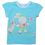 Летняя футболка на девочку 1-2 года Sea, фото 9