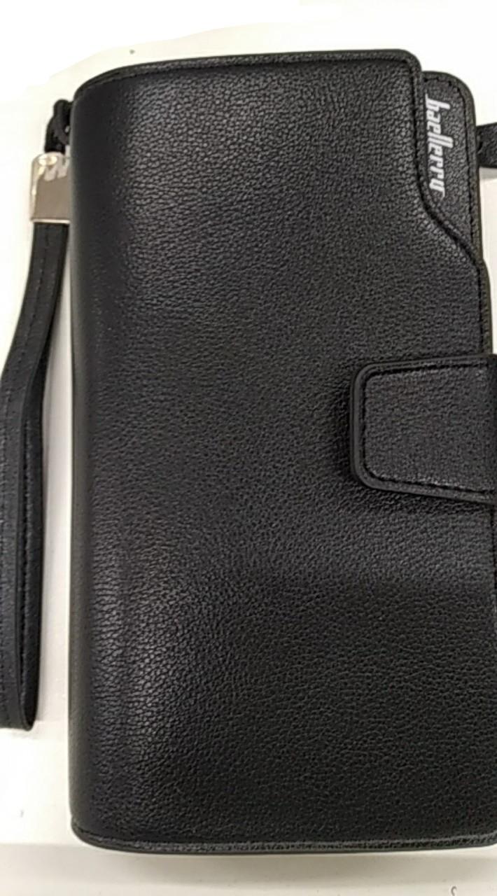 Кошелек мужской, портмоне Baellerry Business 1063 BLACK