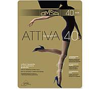 Колготки женские Omsa Attiva 40 den, все размеры, в се цвета, колготки Golden lady