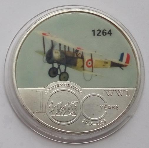 Авиация Первой Мировой Войны. Самолет 1264