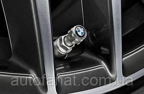 Оригинальный комплект колпачков для колесных вентилей BMW Logo (36122447401)