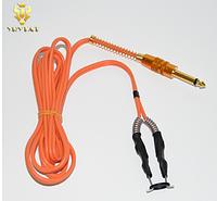 Силиковый клип корд для тату,модель TCC09 ,orange