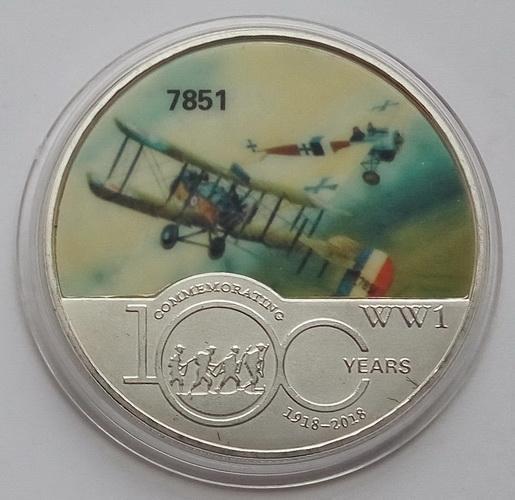 Авиация Первой Мировой Войны. Самолет 7851