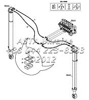 Гидравлические, оперативной памяти, стабилизатор (DIS10968, передний стабилизатор Ф.,) Е1-5-2-ЕП2