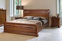 Кровать двухспальная из массива ольхи - Шопен (1600*2000)
