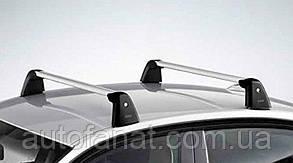Оригинальные багажные дуги для автомобилей без рейлингов крыши BMW 5 (G30) (82712360951)