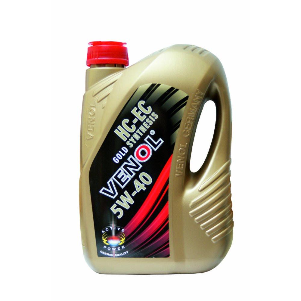 Моторное масло Venol 5w40 HC-EC Gold Synthesis 4л