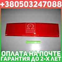 ⭐⭐⭐⭐⭐ Накладка (катафот) крышки багажн. между фонарями красный  ВАЗ 2110 (пр-во ДААЗ)