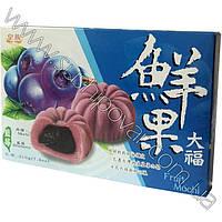 Десерт фруктовые Мочи с голубикой 210г
