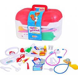 Детский набор Доктора в чемодане, 24-15-15 см. (М 0460)