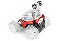 """Детская трюковая машинка на радиоуправлении """"Танцующий автомобиль"""" Limo Toy, красная"""