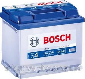 Аккумулятор автомобильный Bosch S4 Silver 60AH R+ 540А (S4005)