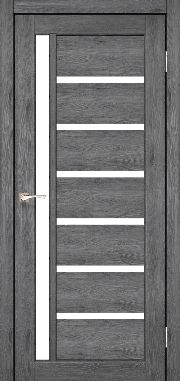 Двери KORFAD VL-01 Полотно+коробка+2 к-та наличников+добор 100мм, эко-шпон