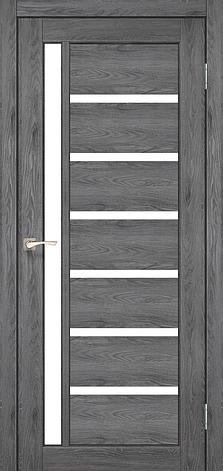 Двери KORFAD VL-01 Полотно+коробка+2 к-та наличников+добор 100мм, эко-шпон, фото 2