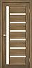 Двери KORFAD VL-01 Полотно+коробка+2 к-та наличников+добор 100мм, эко-шпон, фото 4