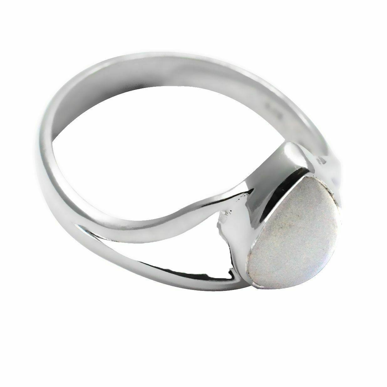 Кольцо из серебра с адуляром, 8*6 мм., серебро 925, 1667КЦА