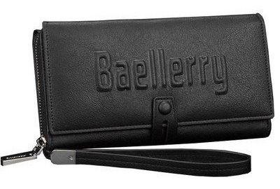 Кошелек мужской, портмоне Baellerry Business S1393 черный