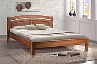 Кровать классическая, двухспальная из массива ольхи - Фантазия (1600*2000)