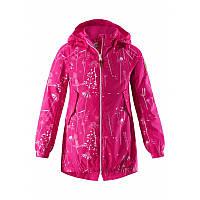 Розовая ветровка для девочки Reimatec® Apila размеры 128 весна;осень;деми девочка TM Reima 521592-4415