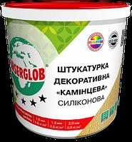 Декоративная силиконовая штукатурка «камешковая» Anserglob. 1.0мм 1,5мм 2,0мм