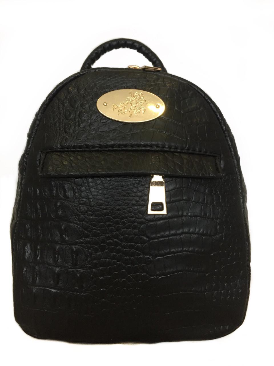 Рюкзак міський молодіжний Betty Pretty чорний 878M20