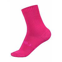 Малиновые носки для девочки Reima Warm Woolmix размеры 30/33;34/37;38/41 осень;зима;весна девочка TM Reima 527309-3600