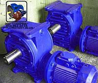 Мотор-редукторы червячные МЧ-160 -28 с электродвигателем 5,5 кВт