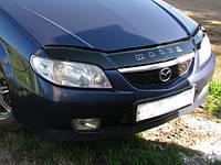 Дефлектор капота (мухобойка) Mazda 323 S/F с 2000-2003 г.в.