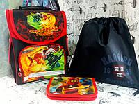 Набор для мальчика Ninja Нинзя 988313 рюкзак , пенал-книжка , сумка для обуви