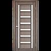 Двери KORFAD VL-02 Полотно+коробка+2 к-та наличников+добор 100мм, эко-шпон, фото 4