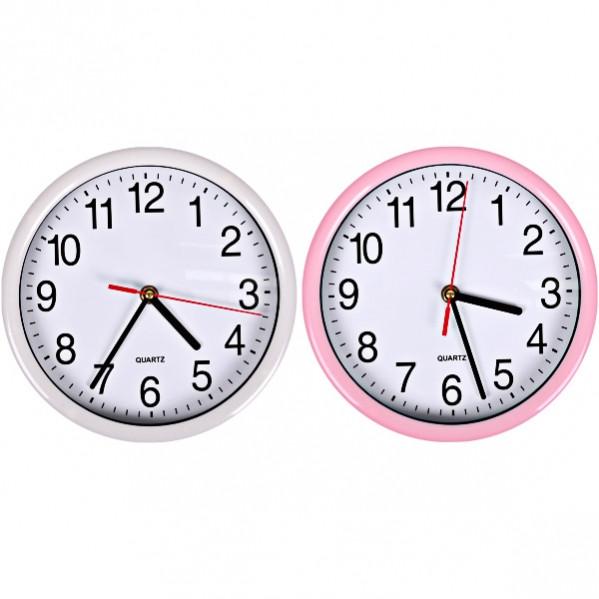 Настенные часы «Классика круг цветные» 22×4 см