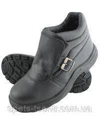 """Ботинки рабочие для сварщика """" Профи """" без шнурков"""
