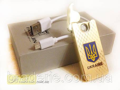 Зажигалка подарочная USB 4795 Украина, фото 2