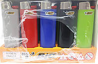 Зажигалка BIC maxi 50шт/уп цветной