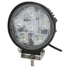 LED Фара рабочая 18W/30, (6x3W) 1260 lm узкий луч (пр-во Jubana)