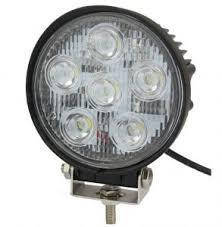 LED Фара робоча 18W/30, (6x3W) 1260 lm вузький промінь (пр-во Jubana)