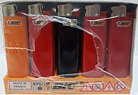 Зажигалка BIC J3 slim 50шт/уп цветной