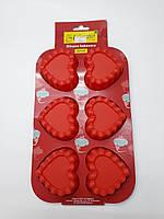 """Форма силиконовая для выпечки """"Сердца"""" 16см х 25см"""
