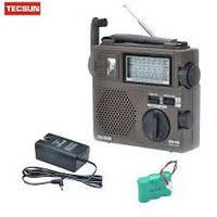Радіоприймач TECSUN GREEN-88 (Акумулятор/Динамо генератор)