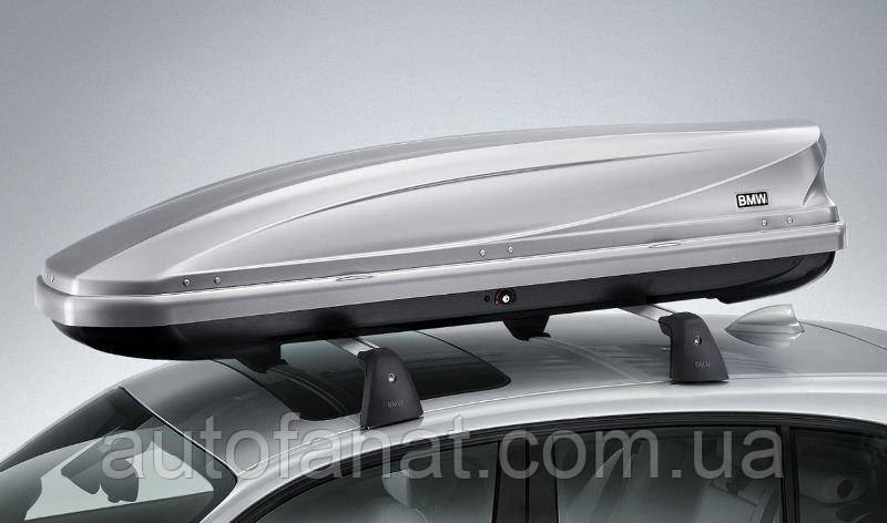 Оригинальный багажный бокс Titansilber, 320 литров BMW 5 (G30) (82732326509)