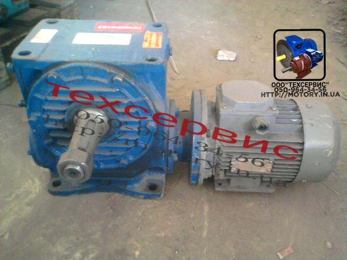 Мотор-редукторы червячные МЧ-160 -112 с электродвигателем 18,5 кВт