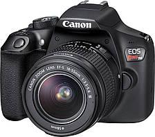 Зеркальный фотоаппарат Canon EOS 1300D kit (18-55 + 75-300) (Rebel T6)