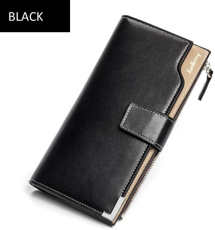 Кошелек мужской, портмоне Baellerry C1283 BLACK